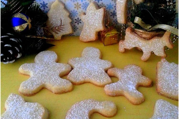 Biscuits sablés aux épices de Noël