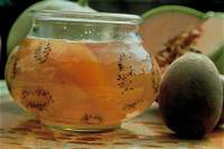 Confit de melon aux kiwis gold