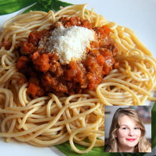 spaghettis à la sauce bolognaise