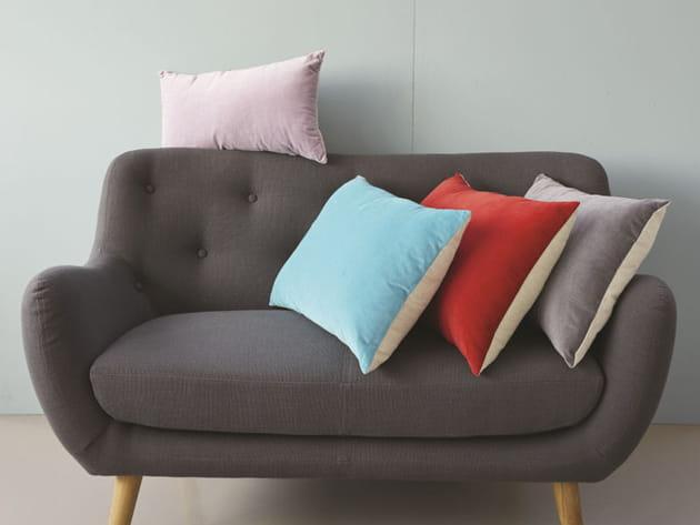 canap vintage. Black Bedroom Furniture Sets. Home Design Ideas