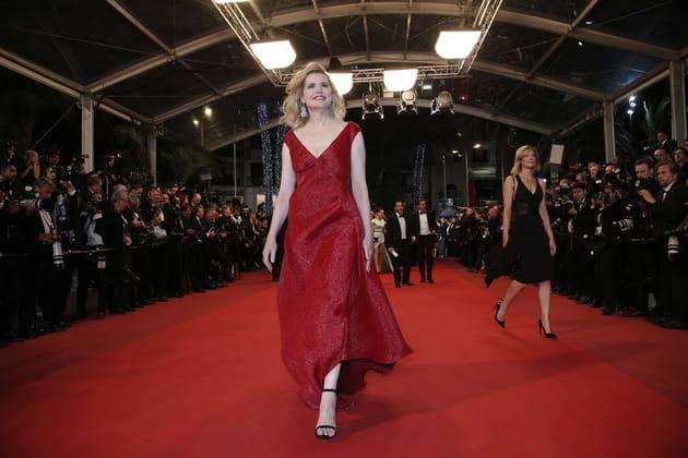 Geena Davis met Cannes à ses pieds