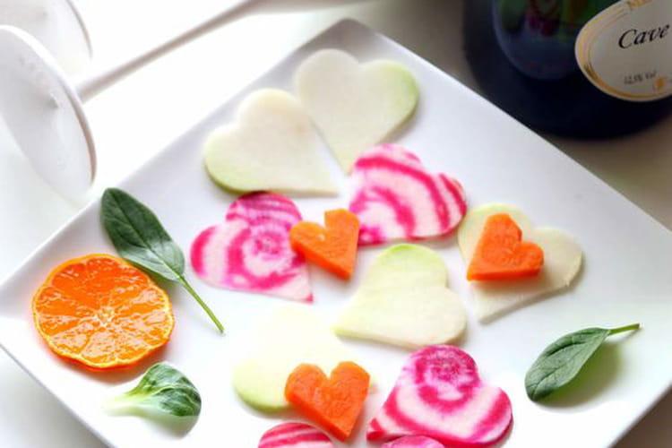 Betterave, chou-rave et carotte à croquer à l'apéro