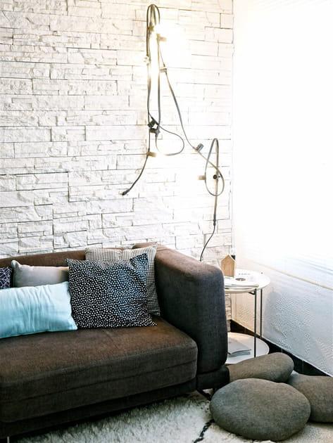 Salon cosy et tendance