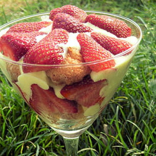 tiramisu fraises et litchi