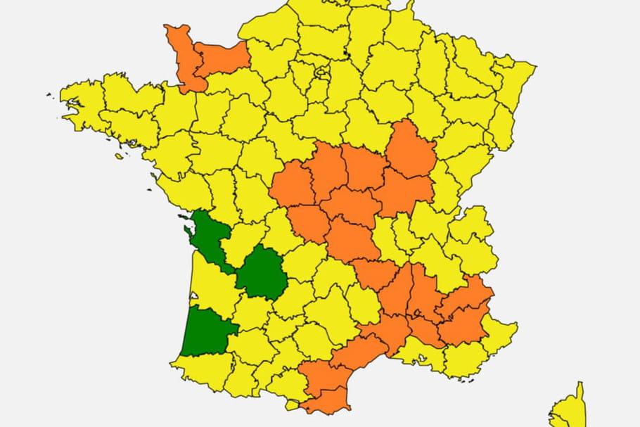 Carte des pollens2020: graminées et ambroisie sévissent en France