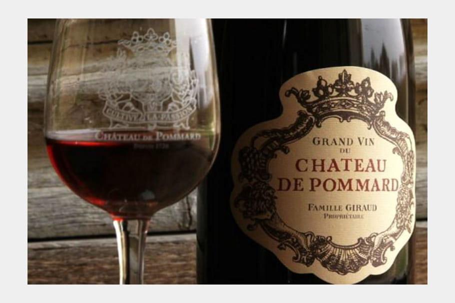 Les vins du château de Pommard