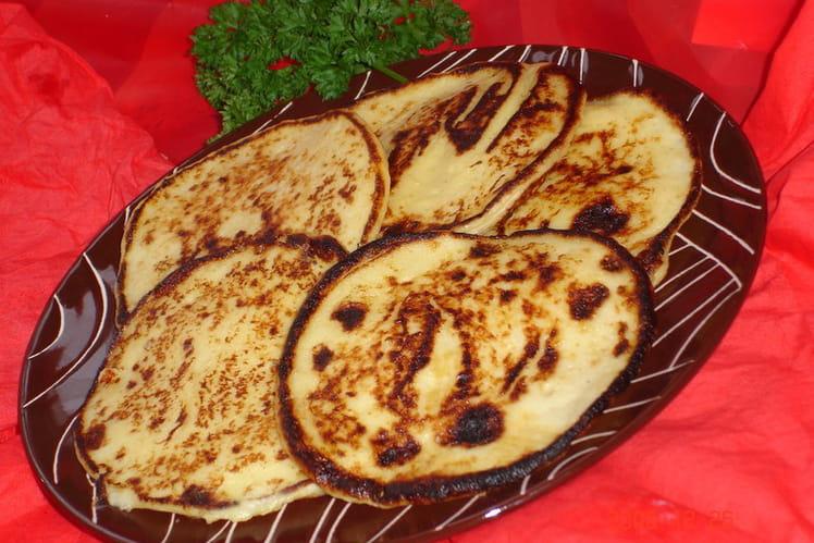 Crêpes de pommes de terre express