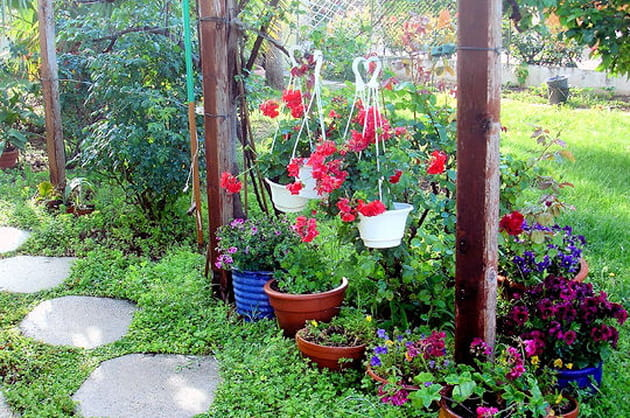 Mon jardin fleuri for Deco jardin fleuri