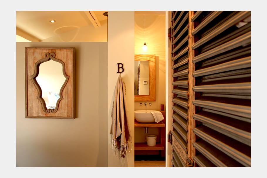 Module salle de bains une bergerie la d co chic for Module salle de bain