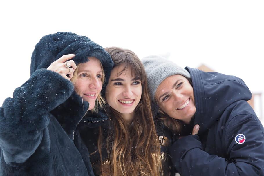 Mon Bébé, Sandrine Kiberlain et Lisa Azuelos triomphent à l'Alpe d'Huez