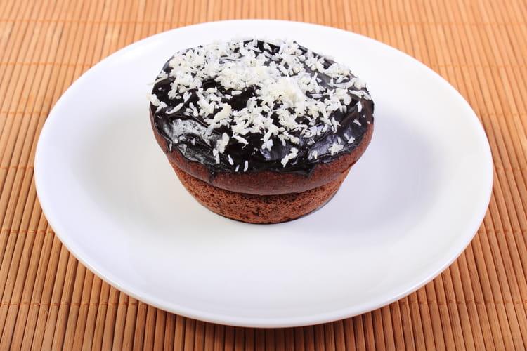 Muffins coconut et chocolat
