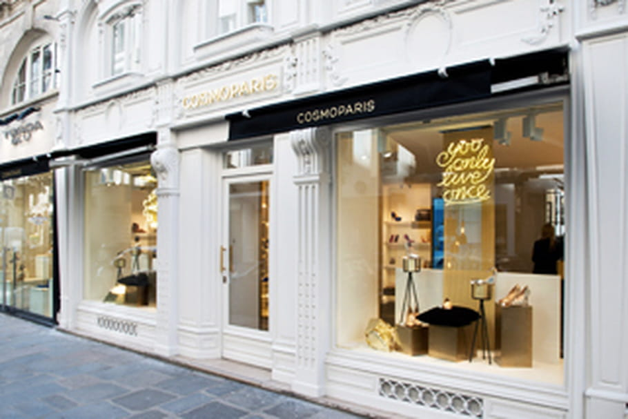 Cosmoparis trouve chaussure à son pied à l'Étage Saint-Honoré