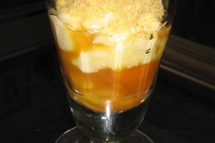 Crumble abricot thé earl grey