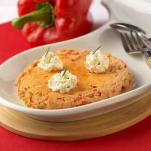 omelette espagnole poivron et oignon