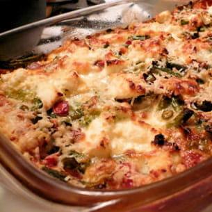 lasagnes de légumes et ricotta