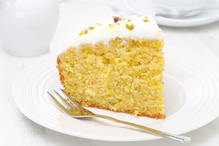 Gâteau au yaourt avec glaçage