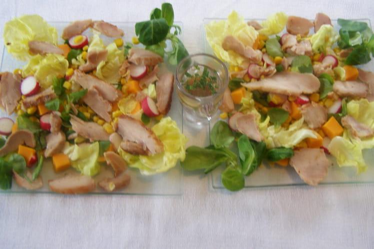 Salade ensoleillée aux couleurs de l'été