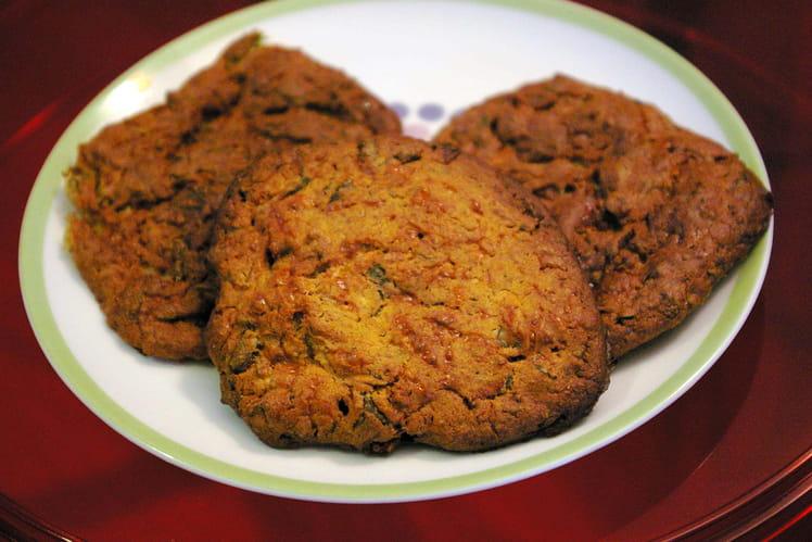 Cookies aux courgettes et à la feta