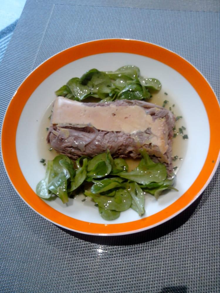 Recette de foie gras au paleron la recette facile - Recette de foie gras ...
