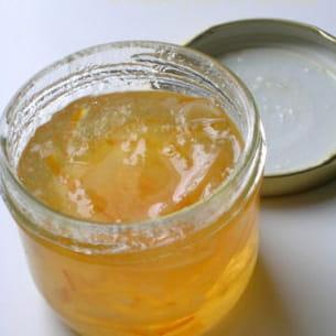 marmelade de citrons et de bergamote