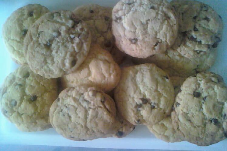 Cookies aux pépites de chocolat rapides
