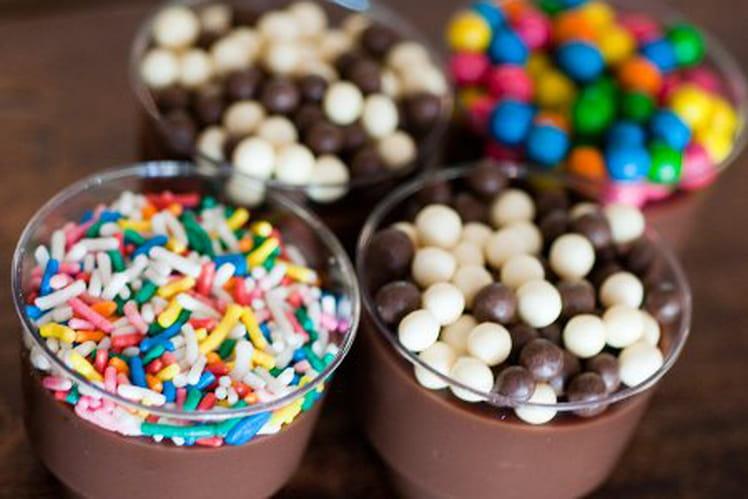 Creme au chocolat (brigadeiro no copo)