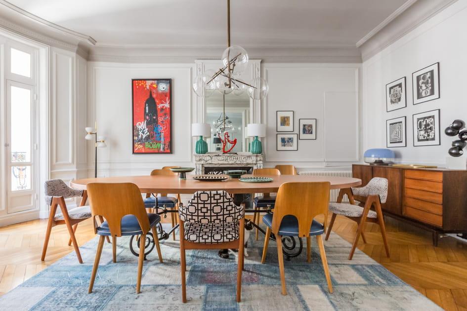 Grande tablée côté salle à manger