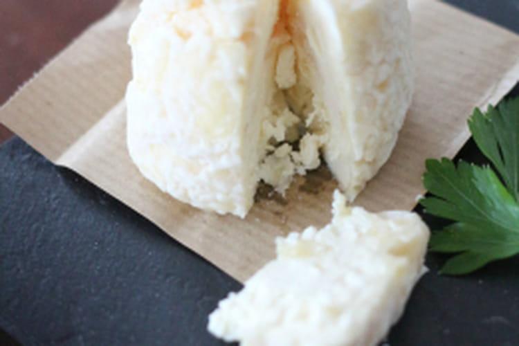 Fromage maison façon crottin (lait de vache)