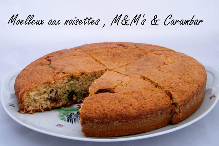 Moelleux carambar et M&M'S