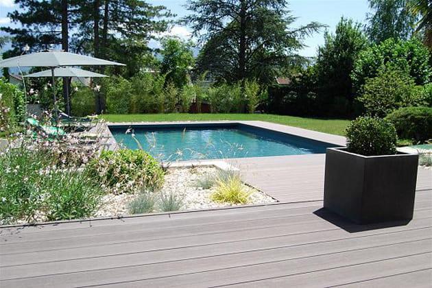 Une piscine au style unique
