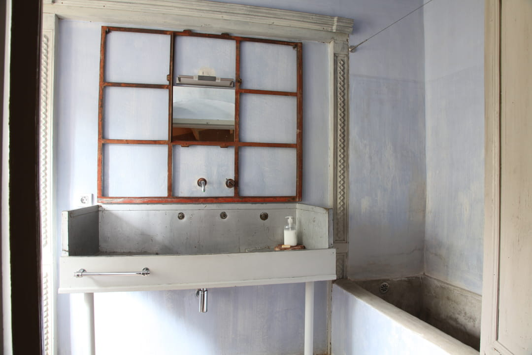 une vasque r cup 39 pour une salle de bains unique. Black Bedroom Furniture Sets. Home Design Ideas