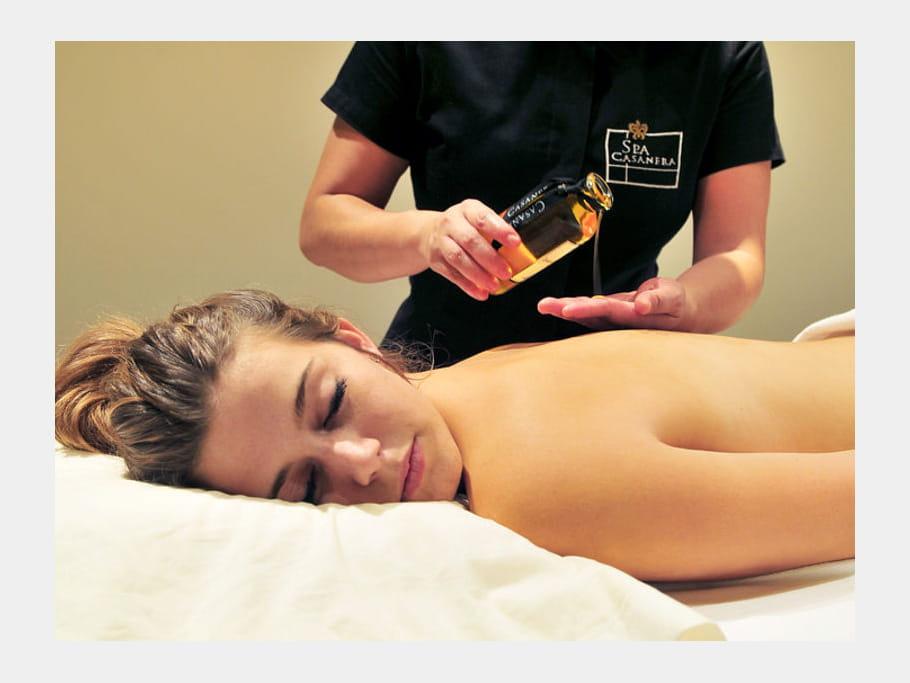 Des massages aux huiles divins à la Signoria
