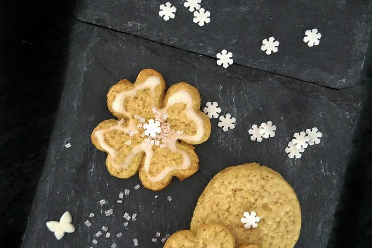 Sablés de Noël à l'amande et à la vanille
