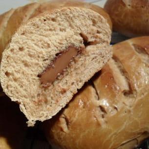 pains au lait chocolat coeur chocolat