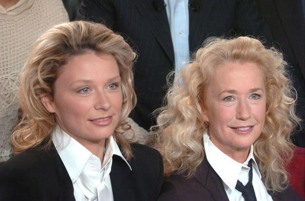 Avec sa fille Marie Adam