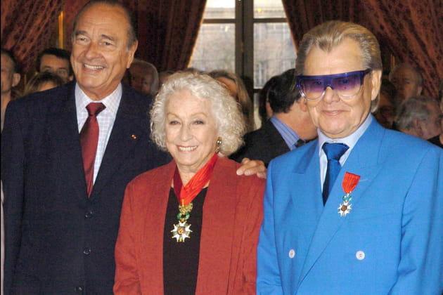 Danielle Darrieux, Commandeur de la Légion d'honneur