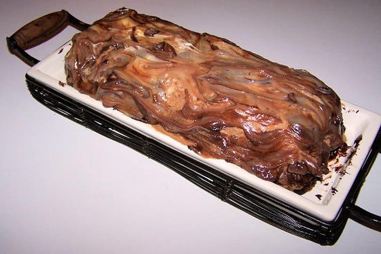 Gâteau façon Mars glacé