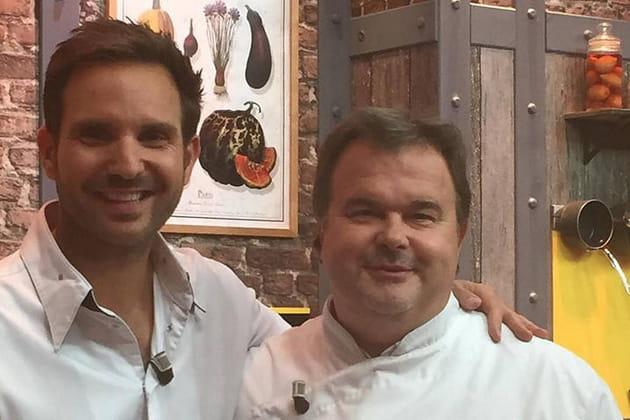 Christophe Michalak et son pote Pierre Hermé