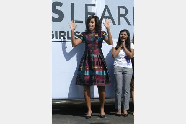 Michelle Obama le 8mars 2016
