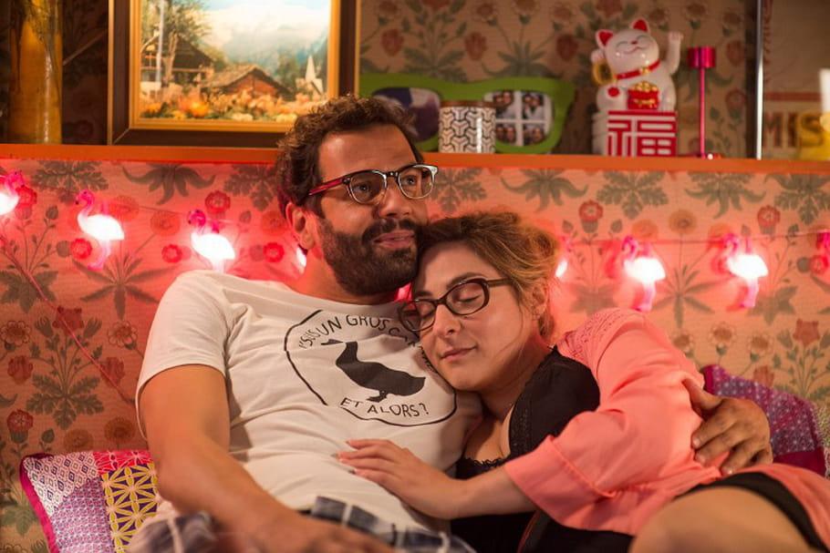 """Marilou Berry et Mehdi Nebbou, futurs parents dans """"Joséphine s'arrondit"""""""