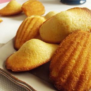 madeleine au citron