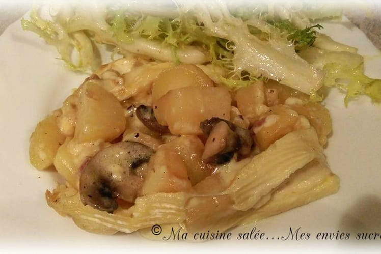 Tartiflette champignons-lardons