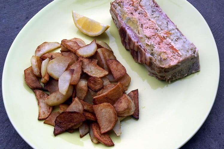 Terrine de poisson aux légumes