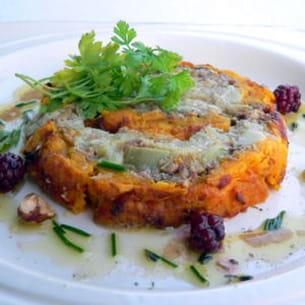 terrine d'automne aux légumes oubliés