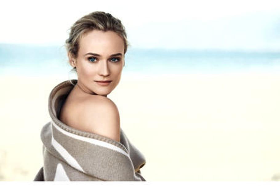 Diane Kruger, égérie de la nouvelle gamme de soins Chanel