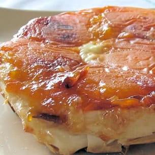 tatins croustillantes d'abricots au mascarpone