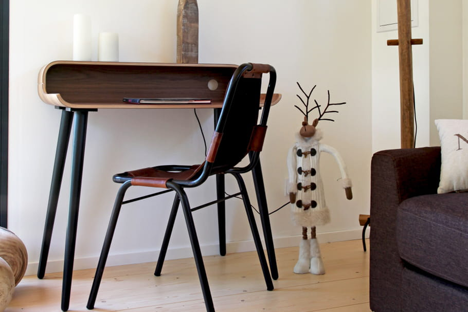 Aménager un coin bureau dans le salon