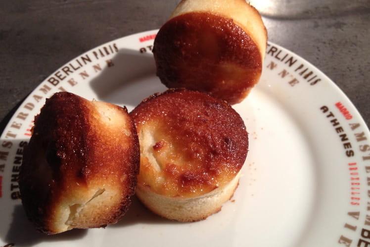 Petits gâteaux poire-amande