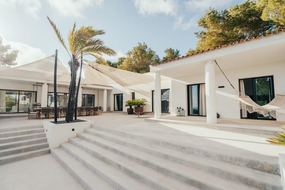 Can Chic, une villa aux accents bohèmes au cœur d'Ibiza