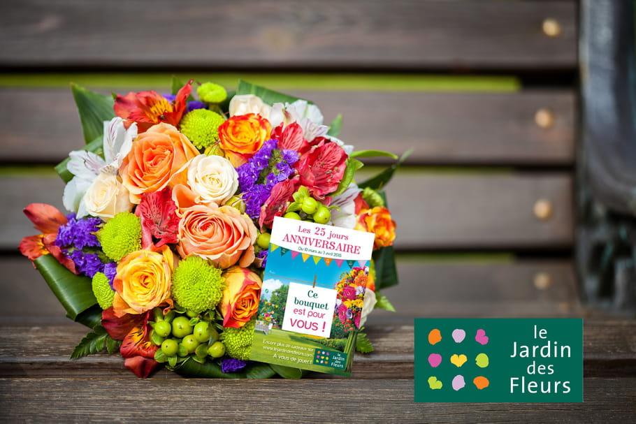 Le Jardin des Fleurs lance une grande chasse aux bouquets